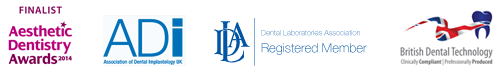 Member of ADi, Dental Laboratories and British Dental Technology